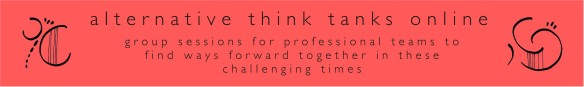 covid think tank banner