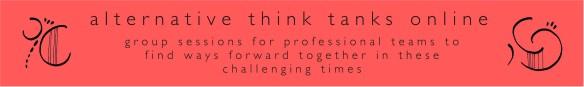 covid think tank banner